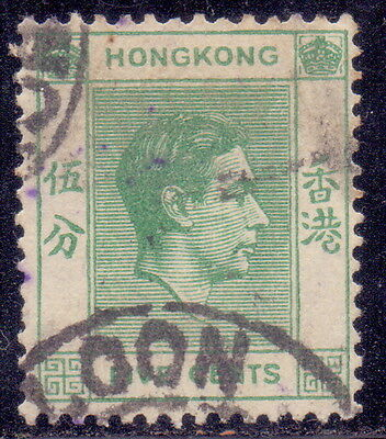 Hong Kong 1V Old Rare Used  Stamp One Cent.