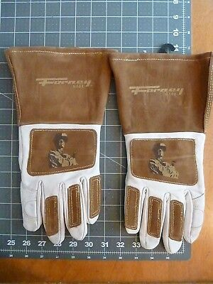TWO (2) Forney Signature Men's Welding Gloves - MEDIUM SIZE -- READ NOTES BELOW