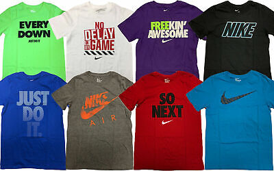 Nike Boy's Graphic Short Sleeve T-Shirt