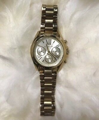 620411816bd MICHAEL KORS MK5798 Goldtone Mini Bradshaw Ladies Watch -  163.76 ...