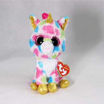 "6"" Beanie Boos Glitter Eyes Plush Stuffed Animals Toys Kids Xmas Gift With tag@"