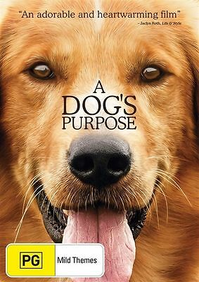 A Dog's Purpose Dvd, New & Sealed, Region 4, 2017 Release Free Post