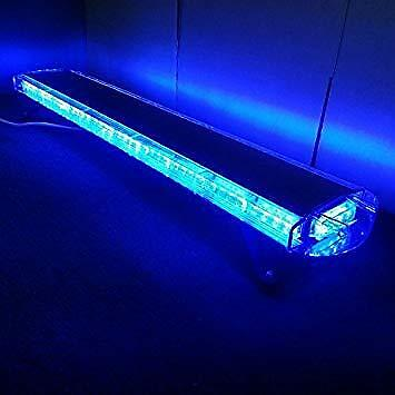 "led recovery lightbar 12v blue leds  light beacon 1200mm 47"" brand new light"
