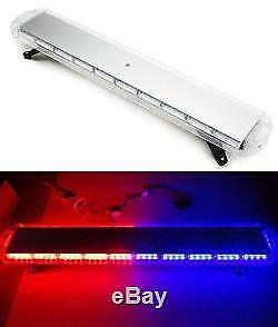 red -blue led recovery lightbar 12v red-blue leds light beacon 1200mm 47""