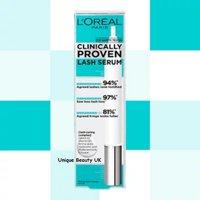L'Oreal Paris CLINICALLY PROVEN Lash Serum - New - 1ST CLASS POST