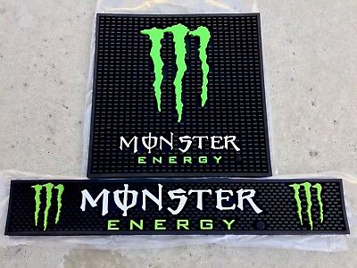 Monster Energy Commerical Bar Mat Combo You Recive All Items Free Shipping