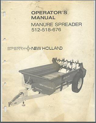 New holland 519 manure spreader manuals array new holland 513 519 manure spreader service parts catalog manual rh picclick com fandeluxe Image collections
