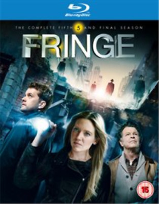Anna Torv, Joshua Jackson-Fringe: The Complete Fifth and (UK IMPORT) Blu-ray NEW