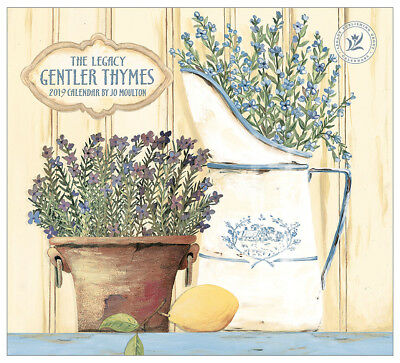 2019 Legacy Calendar GENTLER THYMES New Calender Fits Wall Frame Free Post