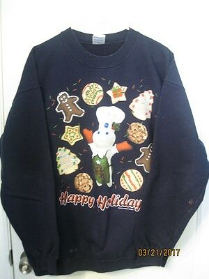 Pillsbury Doughboy Christmas Sweatshirt  used