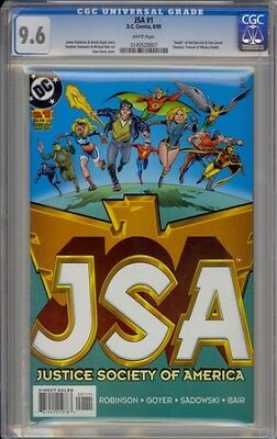 Jsa 1 Justice Society Of America Death Of Kid Eternity & Fate Cgc 9.6