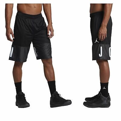 meet 95160 222e8 Nike Men s Basketball Air Jordan Shorts - Black