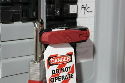 KDD161 STOPOUT 120/240 Circuit Breaker Lockout (Double Pole) With Bar Clamp Tag,