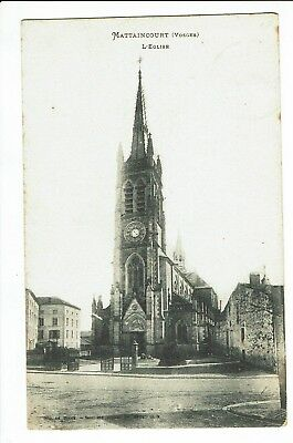 CPA - Carte postale - FRANCE -   Mattaincourt-  Son Eglise -1909 - S2154
