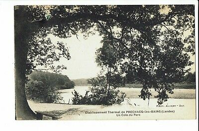 CPA - Carte postale - FRANCE -  Préchacq - Parc de l'établissement Thermal -