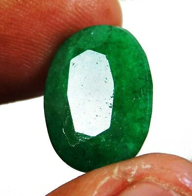 Natural 12.05 Ct Beautiful Oval Cut Colombian Emerald Loose Gemstone. 9182 as
