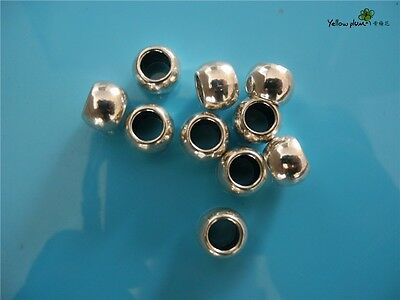 10 PCs Tibetan Carved Silver Metal Beads Set - Dreadlock Beads dread beads A11