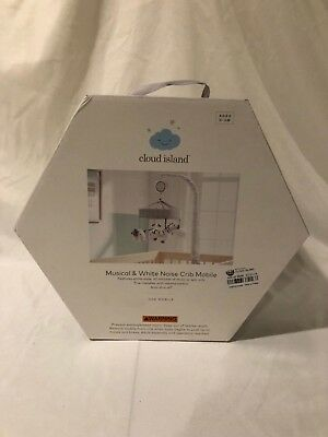 Cloud Island Musical and white noise baby Crib mobile New