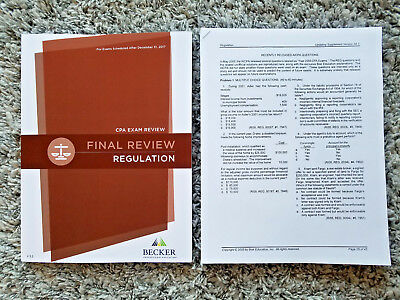 New 2018 becker cpa final review audit aud v32 rq 05 18 680 mc newest v32 2018 becker cpa final review regulation reg rq05 fandeluxe Choice Image