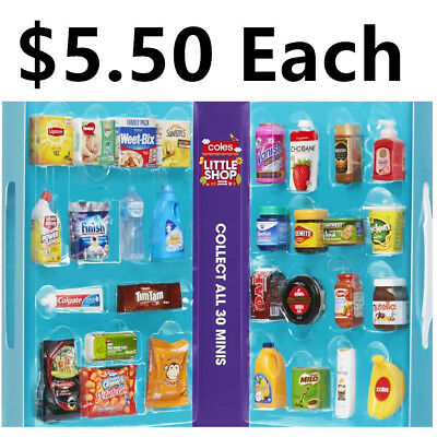 Coles Little Shop Mini Collectables - Clearance SALE! $5.5 Each!!