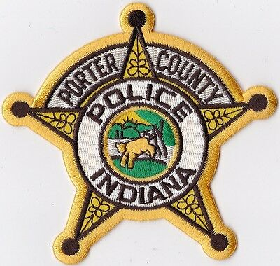 Porter County Police Indiana Police Patch