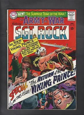 Our Army at War 162 FN- 5.5 Sgt. Rock Viking Prince Crossover Hi-Res Scans