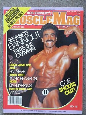 MuscleMag International Samir Bannout & Free Mr Olympia Pullout Still Intact