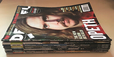Decibel Magazine Lot of 9 Random Issues 47 81 -83 93 102 108 114 115 Metal