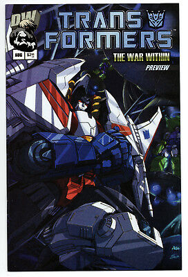 Transformers The War Within Canadian Expo Preview (2002) NM Simon Furman