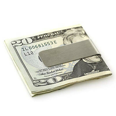 5 Pieces Stainless Steel Slim Money Clip Cash Credit Cards Holder