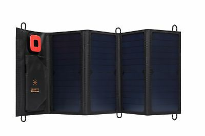 28W Solar Panel Charger High Efficiency Portable Foldable USB Charger Camping