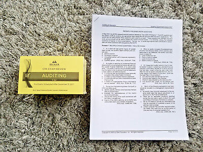 New 2018 becker cpa final review audit aud v32 rq 05 18 680 mc newest v32 2018 becker cpa exam flashcards audit aud rq 05 fandeluxe Choice Image