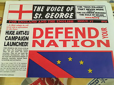 TVoSG 17 1999 BNP NF Nationalist Third Position Brexit B28 isd & FREE POSTER