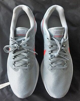 574693bedfcf Brand New NIKE Men s Downshifter 7 Wolf Grey Red White 852459 013