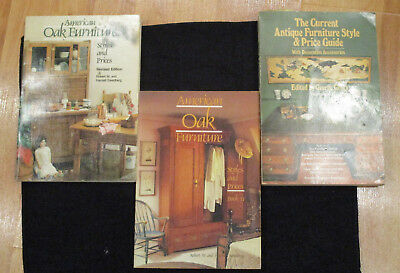 Antique Furniture Book Lot, American Oak Furniture, Identify fakes + Victorian