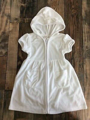 888a3dbab6 NEW! GYMBOREE GIRLS Beach Pool Terry Swimsuit Cover Up size 10 12 ...