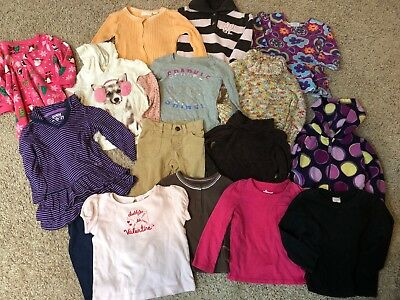 Baby Girl 24 Months 2T Fall Winter Clothes Lot Of 16. Gap, Old Navy Outfits