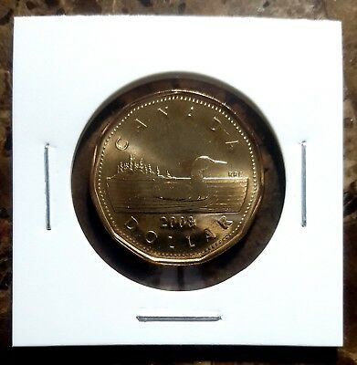 Canada 2008 Loonie BU UNC From Mint Roll!!