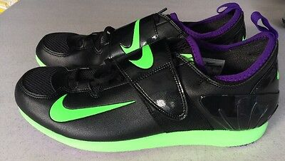 Tendance: nouvelnike zoom pv ii pole vault track and and and field crampons noir vert fe1440