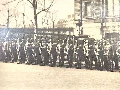 Germany in  PARIS  soldiers  WWII  original 1940s photo postcard Lot