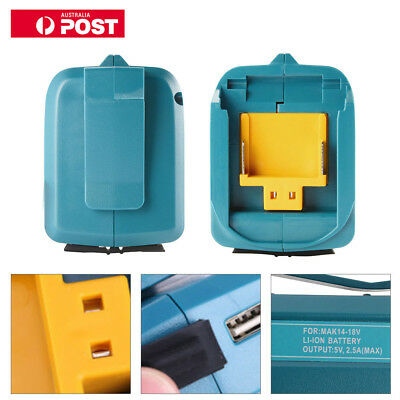 USB Power Charger Adapter Converter for MAKITA ADP05 14-18V Li-ion Battery BC710