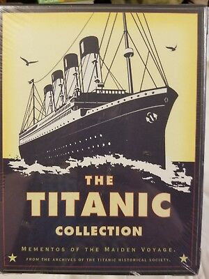 The TITANIC Collection Mementos Of The Maiden Voyage NIP NEW Sealed 1998 90s VTG