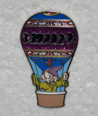 Dopey Hot Air Balloon Adventure Is Out There Disney Pin Mystery Set Snow White
