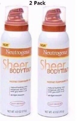 2 x Neutrogena Sheer Body Tint ....New