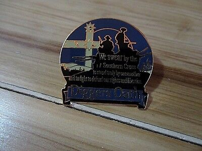 Diggers Oath Lapel Pin Badge Top Quality - biker men's shed sports Motorcycle