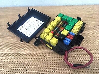 range rover p38 2 5 diesel 1994 to 2001 complete fuse box & relay yqe000010