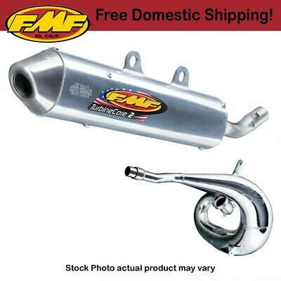 FMF Turbinecore 2 Silencer & Gnarly Pipe For 1998-2002 KTM 380 MXC