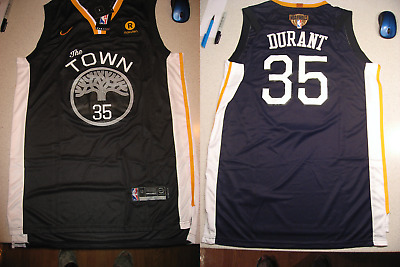 feb98aa5ebf New Golden State Warriors Kevin Durant #35 Swingman The Town Finals Jersey