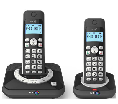 BT3530 Digital Cordless Telephone with Answering Machine Twin Pack