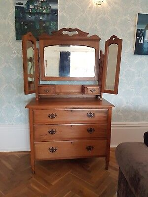 Antique Dressing Table/Chest/Chest of Drawers